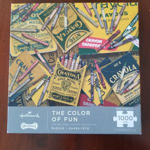 *NEW* Colot Of Fun Crayola Crayons Puzzle 1000 Piece for Sale in West Palm Beach, FL