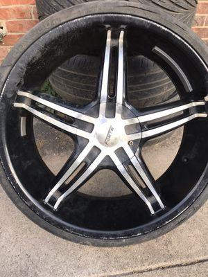 Set of 22 inch rims for Sale in Garland, TX