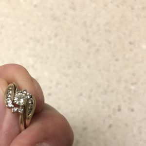 Beautiful Diamond Wedding Set . Size 10 1/2 $800 For Sale Or Trade for Sale in Aurora, CO
