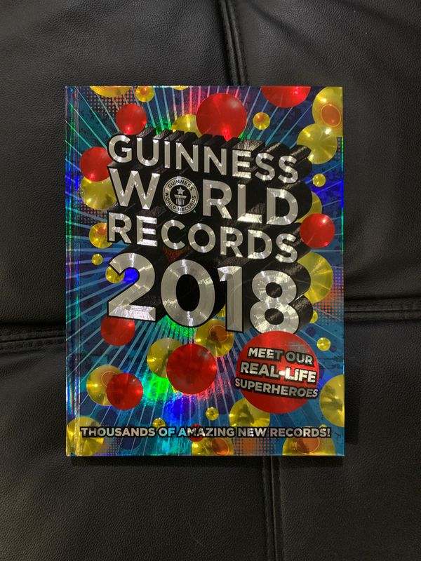 2018 Guinness book of world records