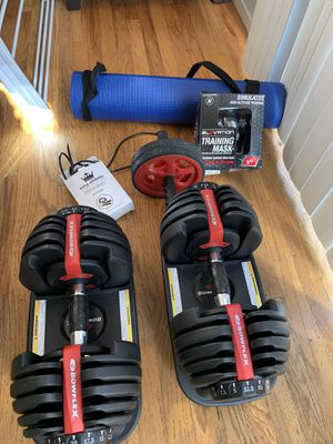Bowflex SelectTech 552 Adjustable Dumbbells for Sale in New York, NY