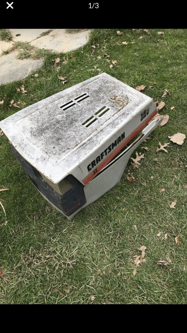 Craftsman II hood Asking $5
