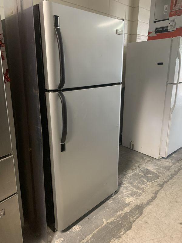 Stainless top bottom refrigerator