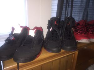 JORDAN 5 , 8 , 10s ALL SIZE 11 AND FOR 130 for Sale in Cambridge, MA