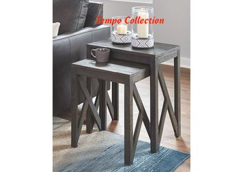 NEW, Emerdale Gray Accent Table (Set of 2), SKU# A4000229 for Sale in Huntington Beach,  CA