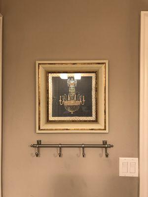 Kirkland's Brand Chandelier Bathroom Wall Decor for Sale in Western Springs, IL