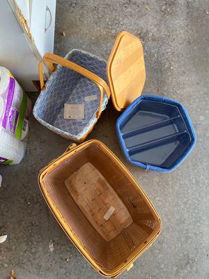Longaberger baskets. for Sale in Richardson, TX