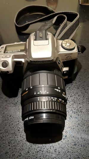 Minolta Maxxum HTsi Camera for Sale in Jersey City, NJ