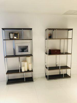 Modern Bookshelves x 2 for Sale in Miami, FL