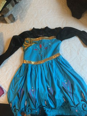 Elsa coronation dress cape and hair piece for Sale in Manchester, CT