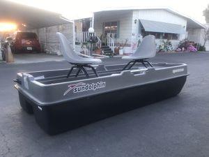 Sun dolphin 10' Long fishing boat 🚣♀️ for Sale in Long Beach, CA