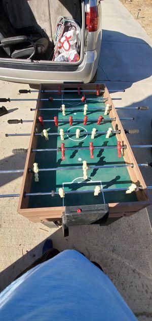 """48"""" 3-In-1 Multi Combo Game Table Family Foosball Soccer Billiards for Sale in Hesperia, CA"""
