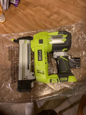 Brand new finishing nail gun never been used for Sale in Palmdale, CA