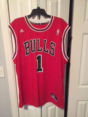 Sz L Authentic Derrick Rose Bulls Jersey New for Sale in Chicago, IL