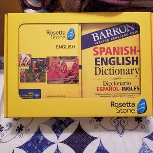 Rosetta Stone Ingles for Sale in Rancho Cucamonga, CA
