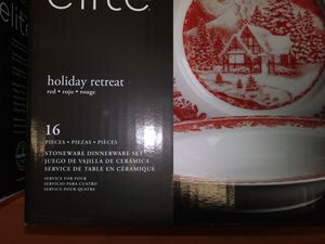 Gibson Elite Holiday Retreat Dishes for Sale in Chantilly, VA