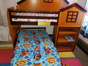 Stewart house twin loft bunk bed MUST GO!!! for Sale in Niagara Falls, NY