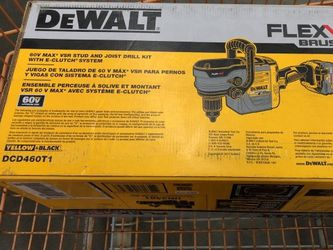 NEW Dewalt FLEXVOLT 60-Volt MAX Cordless Brushless 1/2 In. Stud And Joist Drill With E-Clutch And (1) Flexvolt 6.0Ah Battery for Sale in Staten Island,  NY