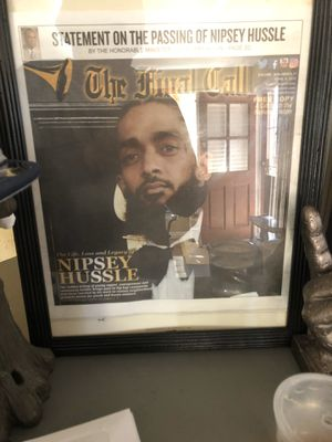 Nipsey Hussle newspaper ready to b framed for Sale in Upland, CA