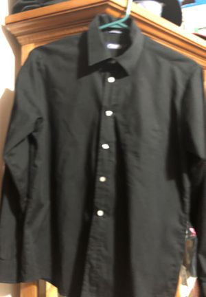 Boys Chaps Long Sleeve Black Dress Shirt - Size 16 for Sale in Chicago, IL