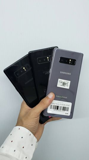 Samsung Galaxy Note 8 64gb Factory Unlocked, Like New! OPEN (11:30AM-6PM) for Sale in Arlington, TX