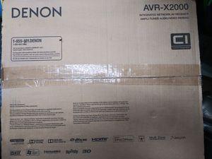 Denon Stereo Receiver AVR-X2000 7.1 Surround Capable for Sale in Phoenix, AZ