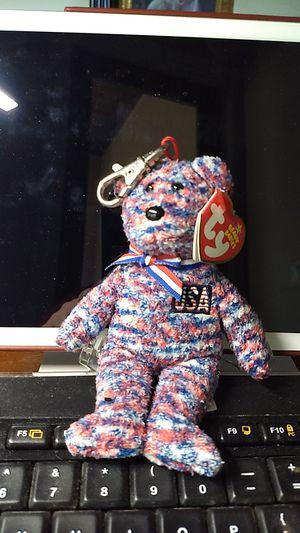USA ty beanie babies key chain for Sale in Austin, TX