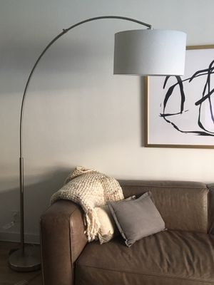 """CB2, """"Big Dipper"""" brushed nickel floor lamp for Sale in West Hollywood, CA"""