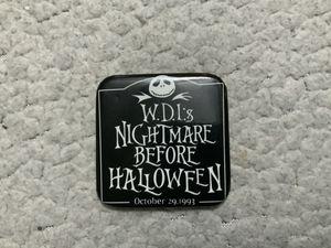 RARE NEW W.D.I.S ( WALT DISNEY IMAGINEERING'S ) NIGHTMARE BEFORE HALLOWEEN OCTOBER 29, 1993 PIN for Sale in Henderson, NV