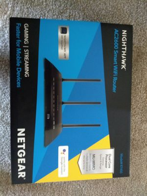 Netgear super fast wifi router - very less used, still in the box for Sale in Arcadia, CA