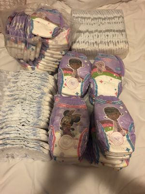 Diapers and pull ups for Sale in Lynwood, CA