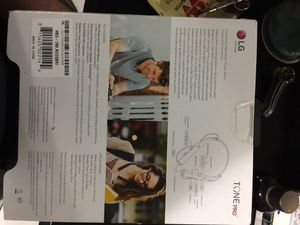 LG TONES PRO BLUETOOTH HEADSET NEW for Sale in Hialeah, FL