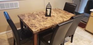 Kitchen table,4 chairs,and bench for Sale in White Lake charter Township, MI