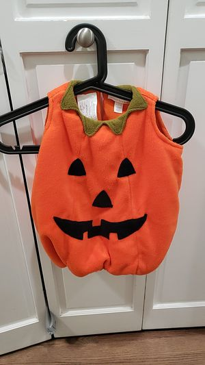 Pottery Barn Kids, pumpkin costume, 6-12 mo for Sale in Seattle, WA