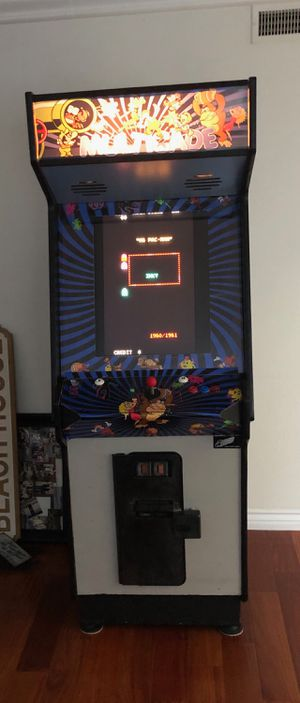 Nice 60 in 1 arcade game 24 inch lcd works great. for Sale in Midway City, CA