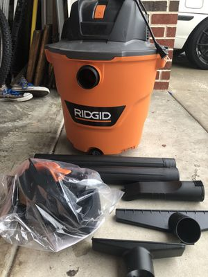 Ridged Wet/ Dry Shop Vacuums for Sale in Savannah, GA