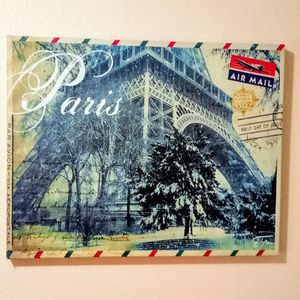 PARIS PICTURE, LG. SZ., LIKE NEW! for Sale in Vancouver, WA