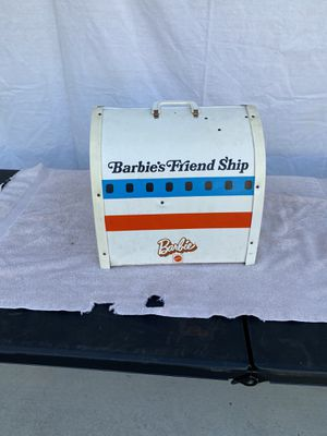 Vintage Mattel Barbie United airline plane case. for Sale in Rancho Cucamonga, CA