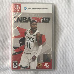 NBA 2K18 for Nintendo Switch | Brand New for Sale in Burlington, NJ