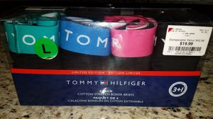 Tommy Hilfiger limited edition 4 pack Men's Boxer Briefs Size Large for Sale in Raleigh, NC