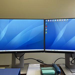 HP E230t Dual Monitors for Sale in Hacienda Heights, CA