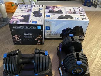 NordicTrack 50lbs Adjustable Dumbbell Set for Sale in Rancho Cucamonga,  CA