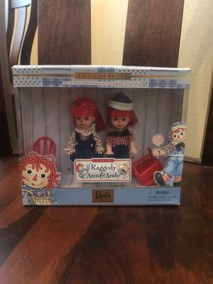 Raggedy Ann and Andy Small Barbies for Sale in Simi Valley, CA