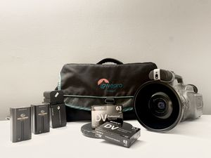Sony Vx1000 With Fisheye And Extras for Sale in Buffalo, NY