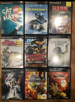 USED PS2 Games - $5 each for Sale in Fort Washington, MD