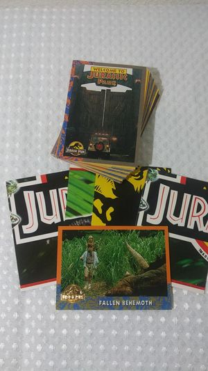 Vintage 1993 Jurassic Park - Cards for Sale in Hemet, CA