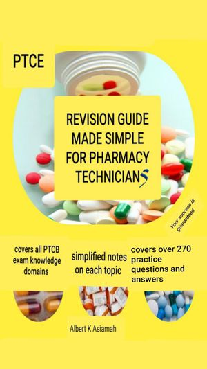 REVISION GUIDE MADE SIMPLE FOR PHARMACY TECHNICIANS for Sale in Manassas, VA