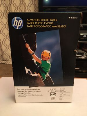 HP advanced photo paper 100 glossy for Sale in Fairfax, VA