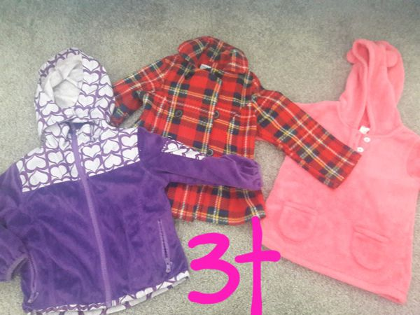 3t girl warm jackets