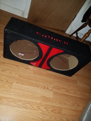 Subwoofer Crunch 12 in Box Sealed for Sale in Providence, RI
